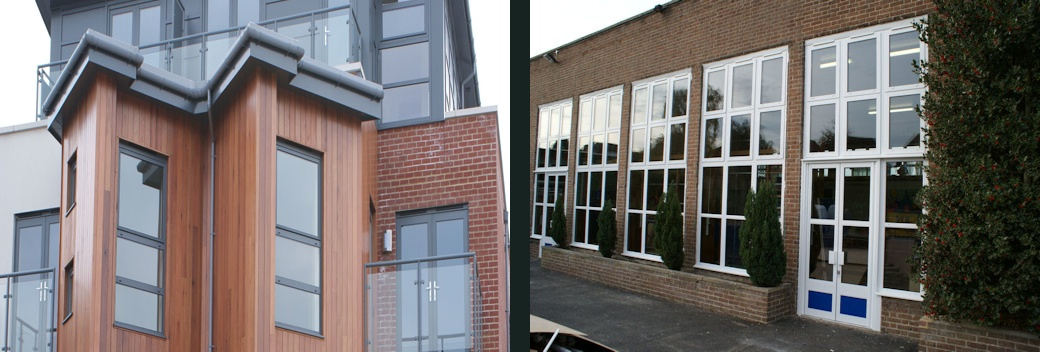 Alumium Windows and Curtain Walling